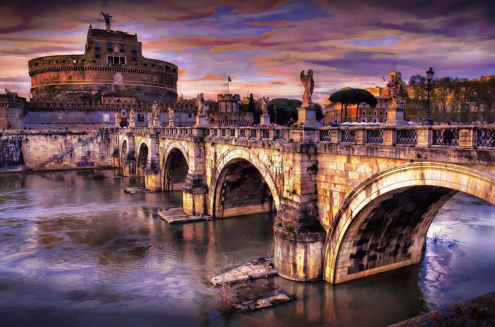 Capodanno Roma 2015 - Castel Sant'Angelo