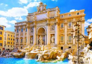 Capodanno Roma 2015 - fontana di Trevi