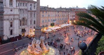 Capodanno Roma 2015 - piazza Navona