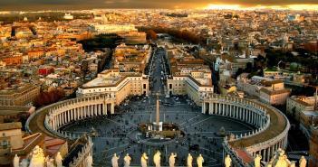 Capodanno Roma 2015 - piazza San Pietro