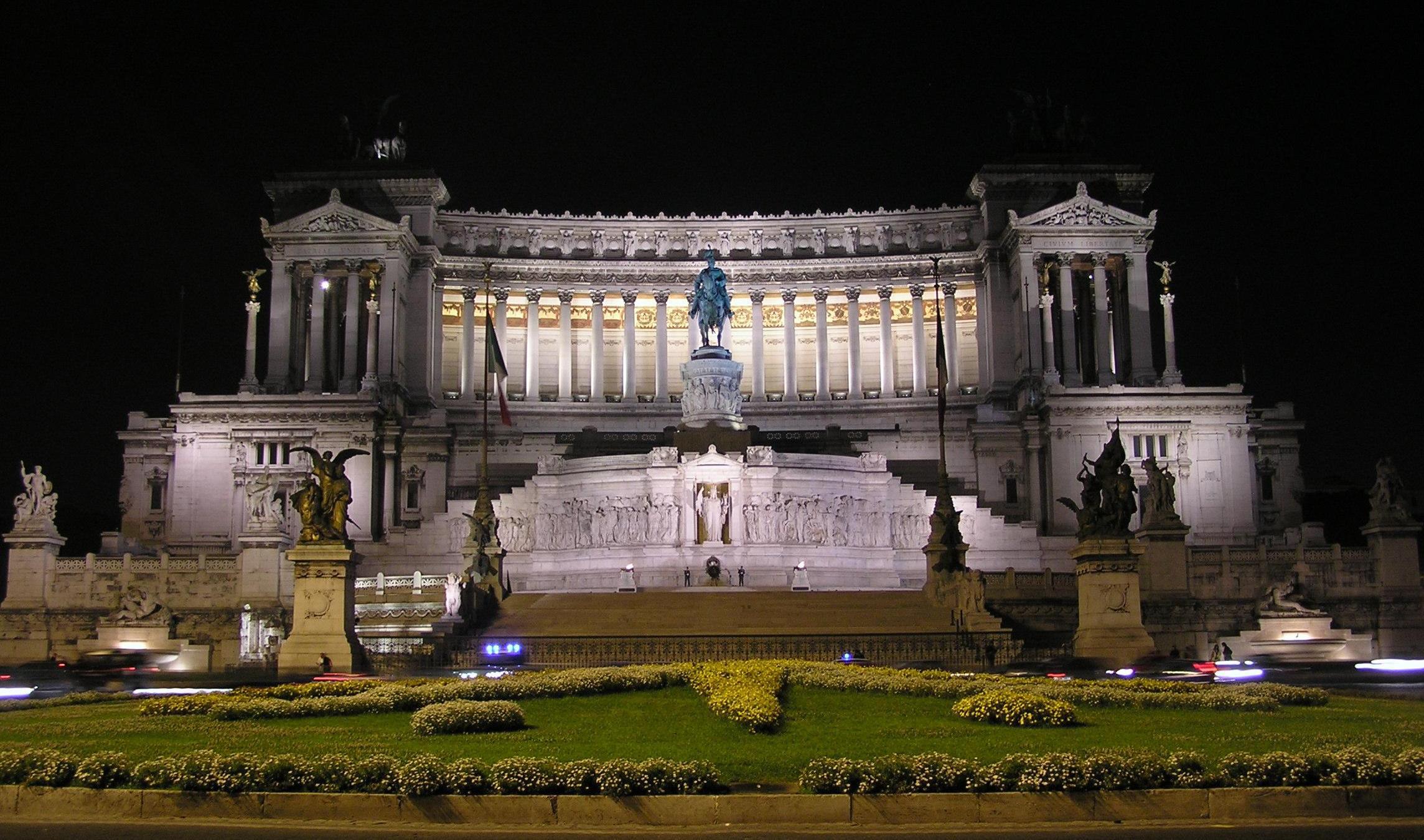 Capodanno Roma 2015 - piazza Venezia