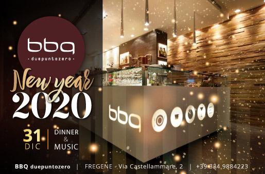 Capodanno 2020 BBQ Fregene: cena servita - musica live - Dj Set