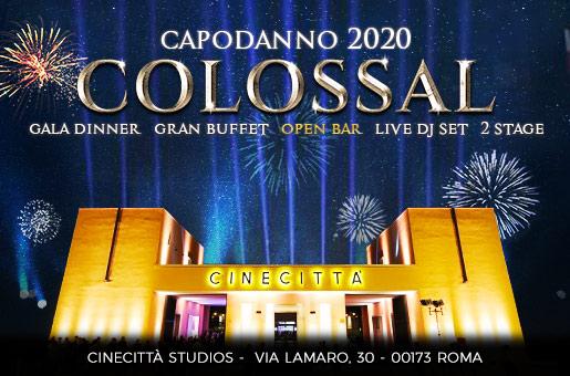 Capodanno Cinecittà Studios: il Colossal 2020 di Roma