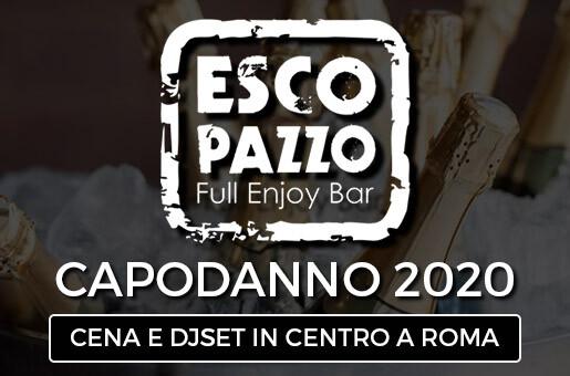 Capodanno 2020 Escopazzo al centro di Roma