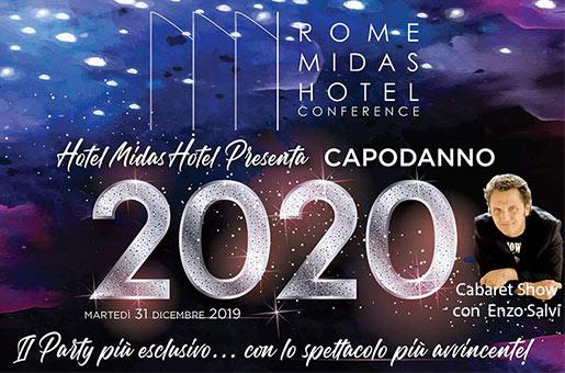 capodanno 2020 hotel MIDAS
