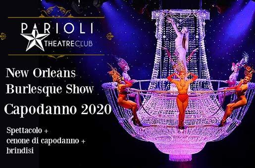 capodanno 2020 parioli theatre club