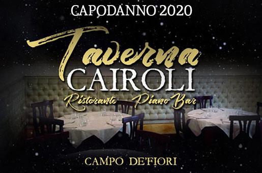 capodanno 2020 ristorante taverna cairoli