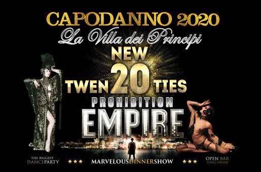 capodanno 2020 villa dei principi
