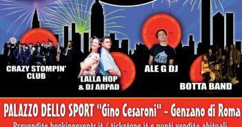Capodanno Palazzo delle Sport Genzano