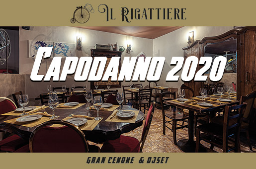 Capodanno 2020 ristorante Il Rigattiere