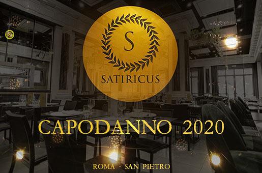 satiricus capodanno 2020 roma