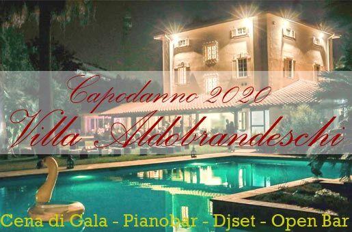 capodanno 2020 roma villa aldobrandeschi